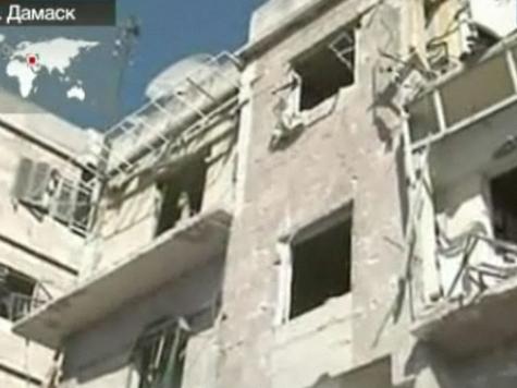 Дамаск в огне