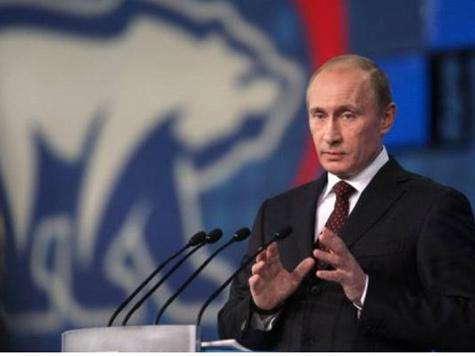 Путин разрешил «ЕР» использовать его образ в предвыборной кампании