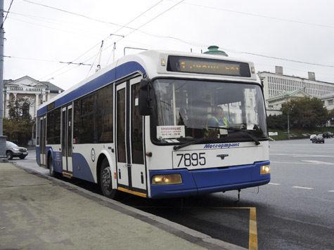 По московским улицам проедут ретротроллейбусы