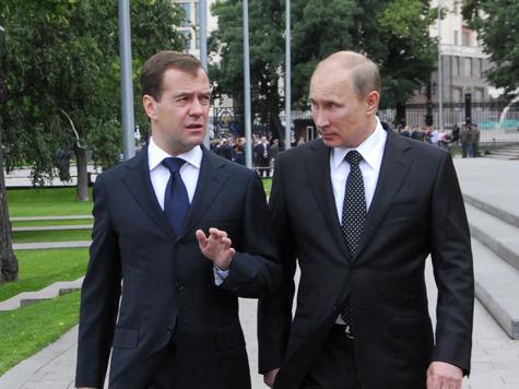 Путин и Медведев дали напутствие кремлевской администрации