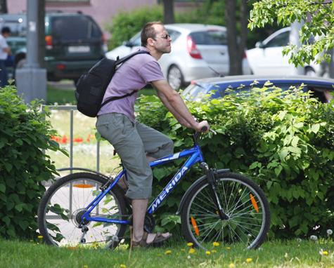 Велосипедистам и пешеходам придется делить один дорожный знак