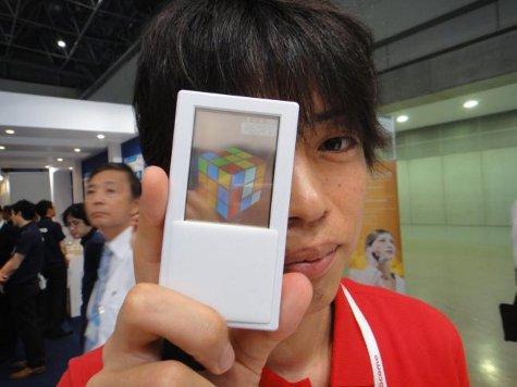Разработан смартфон с прозрачным двухсторонним сенсорным экраном