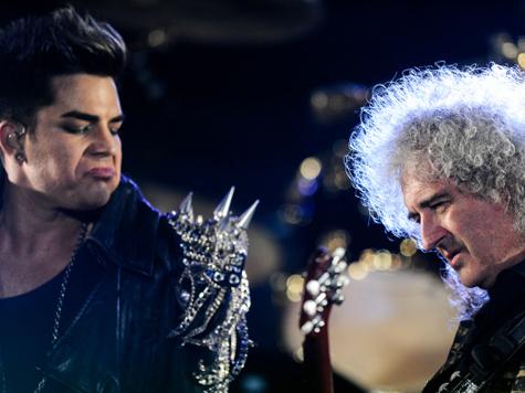 Queen влюбилась в Адама Ламберта. ВИДЕО