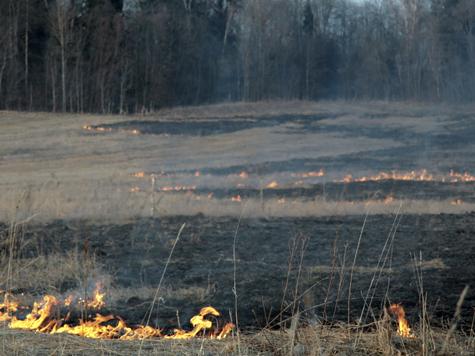 О пожарах станут кричать на всю Ивановскую