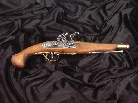 Старинный пистолет выстрелил дважды за неделю