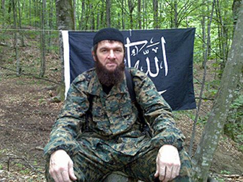 Доку Умаров обвинен в оправдании терроризма
