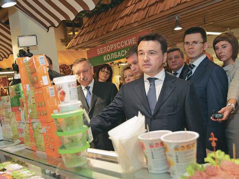 Андрей Воробьев: «Наша задача, чтобы НИ ОДНОГО САНТИМЕТРА Московской областине было отведено  под нелегальную торговлю»
