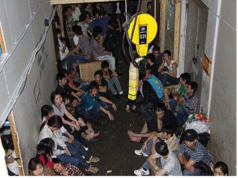 В Подмосковье обнаружен подпольный цех с 400 нелегалами