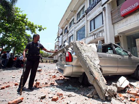 Землетрясение отпугнуло туристов