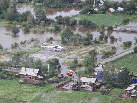 Суровое челябинское наводнение — затопило Париж