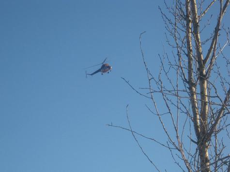 Тот самый вертолет.