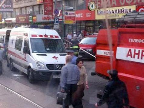 Взрыв прогремел в московском  кафе