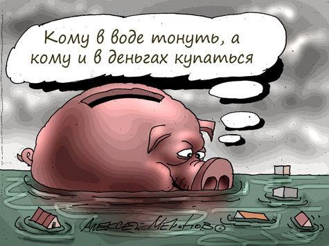 Евгения Васильева широтой с Амур. Ущерб Минобороны сравним с ущербом от наводнения