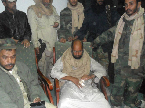 Кто сдал младшего Каддафи?