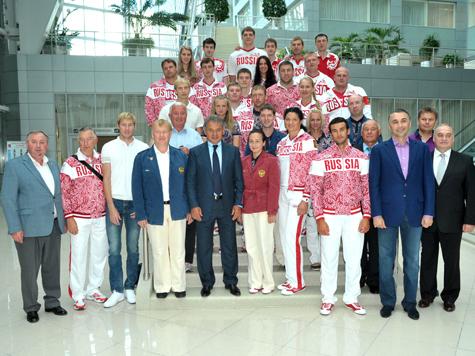 Шойгу дал напутствие олимпийцам