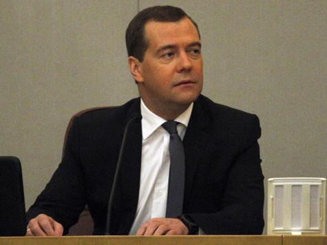 С Медведева не взяли денег за быструю езду
