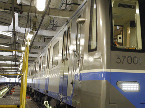 Новым вагонам нашли место на желтой линии метро