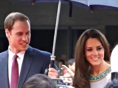 Британия ликует - герцогиня Кембриджская родила мальчика!