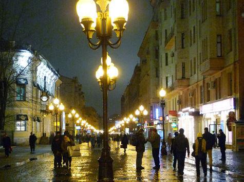 Пешеходов на старом Арбате разделят на трудяг и лентяев