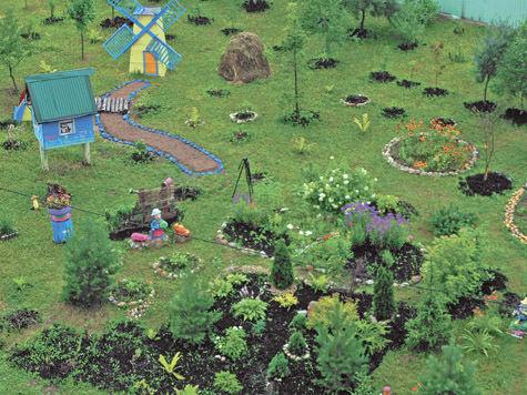 Балашихинцы превратили двор в дизайнерский сад