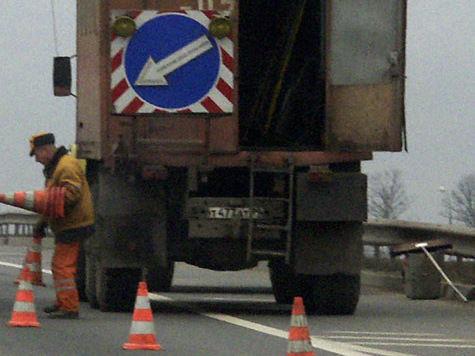 Отбойники на московских магистралях хотят убрать для проезда VIP-чиновников?