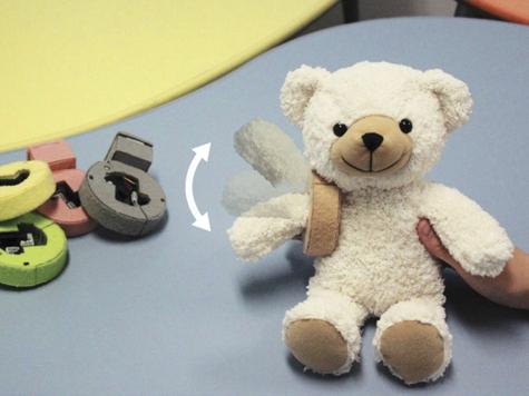 Японцы оживили игрушки