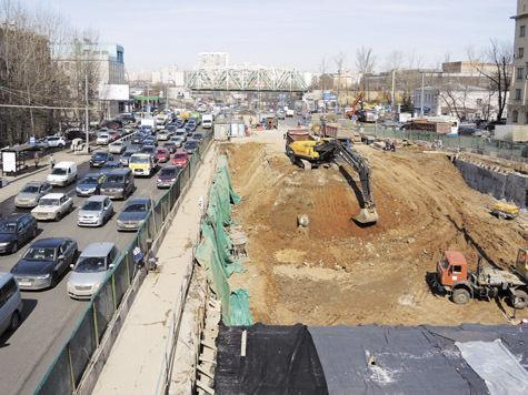 ...МКАД, будут строиться Северо-Западная и Северо-Восточная хорды, Южная рокада. фото: Геннадий Черкасов.