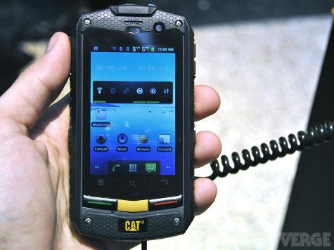 Производитель тракторов компания Caterpillar представила свой первый смартфон