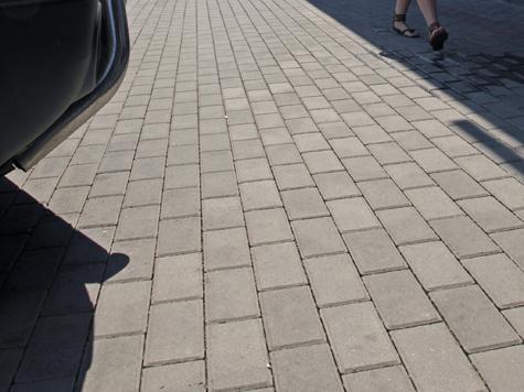 Тротуарная плитка перезимовала успешно