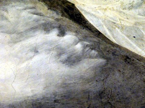На фреске в церкви обнаружили дьявола