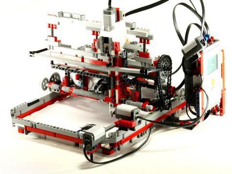 lego mindstorms принтер юный