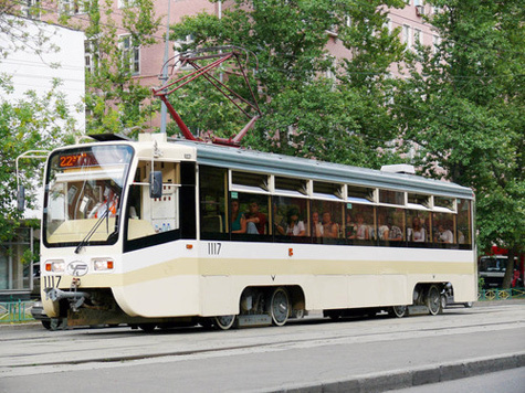 Бомбу станут искать в трамваях перед каждым рейсом
