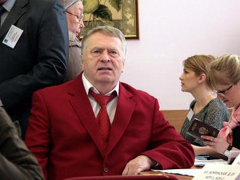 Штаб Жириновского не дождался лидера