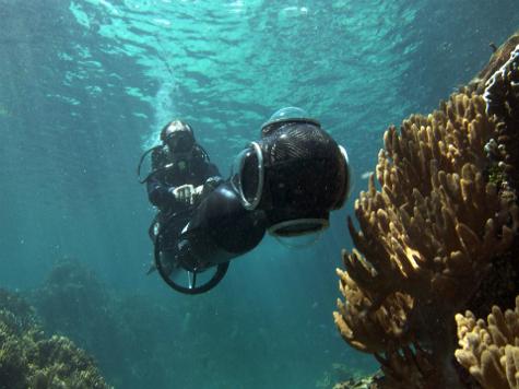 Учёные совместно с Google приступили к панорамной съёмке Кораллового моря