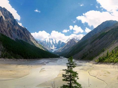 В Республике Алтай дожди смыли знаменитое озеро Маашей. ФОТО