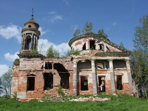 Лучше молиться среди руин
