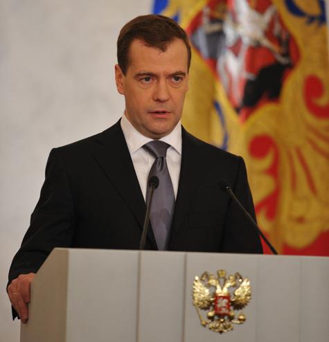 Расходы чиновников начнут считать еще при Медведеве