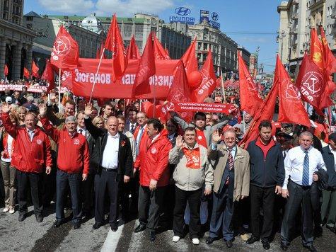 Брат Ельцина стал коммунистом. ВИДЕО
