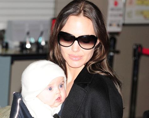 Анджелина Джоли вновь беременна
