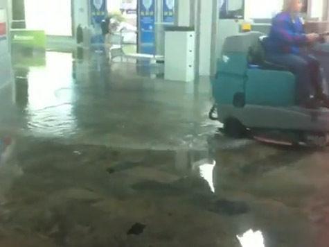 «Наводнение» докатилось до сочинского аэропорта