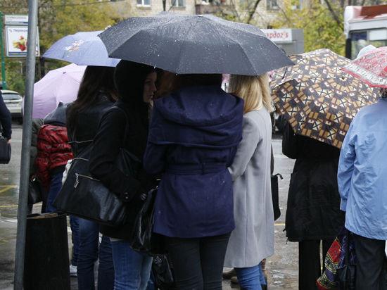 В Москву придет грозовой фронт и холода