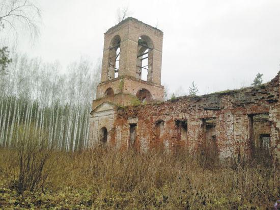 Собор-призрак шатурских болот