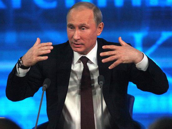 Путин возьмет интервью у журналистов