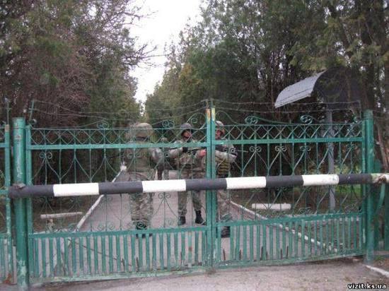Украинские военные захватили навигационную станцию Черноморского флота России