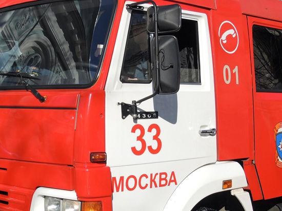 При пожаре в московской воинской части погиб офицер