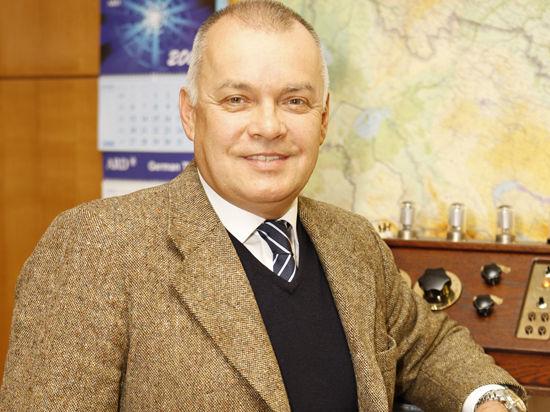 Киселев назвал авторов санкционных списков и поведал о хорошем отношении к себе геев