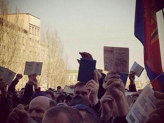 «Оккупанты» обладминистрации Харькова оказались местными. Имена задержанных
