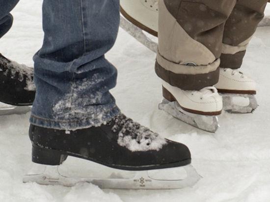 Зимой — на каток в «Олимпийском»!