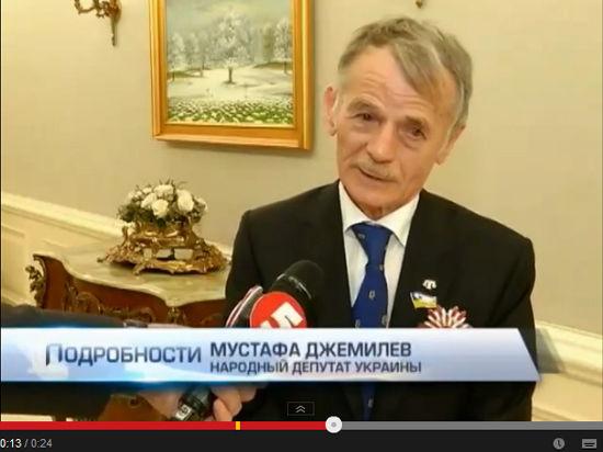 ФМС: Джемилеву въезд не запрещали