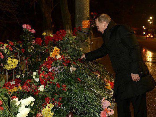 Путин в новогоднюю ночь отправился в Волгоград